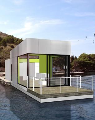 Floating house Marina L / Plávajúci dom Marina L