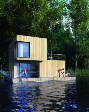 Floating house Alize / Plávajúci dom Alize