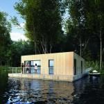 Floating house Bora / Plávajúci dom Bora