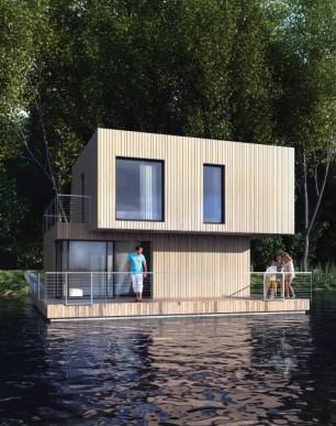 Floating house Mistral / Plávajúci dom Mistral