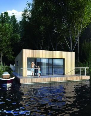 Floating house Yugo / Plávajúci dom Yugo